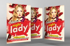 Ladies Night Party Flyer Product Image 2