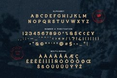 Burnolds - Vintage Fashioned Display Font Product Image 5