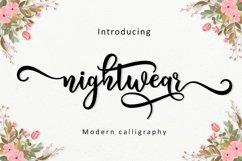 Nightwear Script Product Image 1