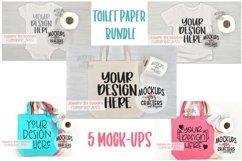 Toilet Paper BUNDLE - includes 5 mock-ups Product Image 1