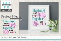 Wedding SVG - Husband And Wife Product Image 1