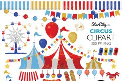 Circus Clip art Product Image 1