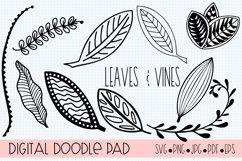 Floral Doodle Bundle Silhouette and Cricut Product Image 3