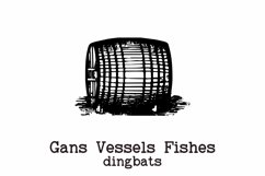 Gans Vessels Fishes Product Image 3