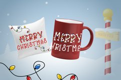 Bright Lights // A Merry Christmas Font Product Image 5