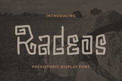 Radeos Font Product Image 1