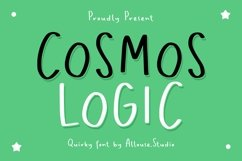 Web Font - Cosmos Logic - Quirky Font Product Image 1