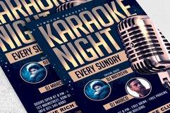 Karaoke Night Flyer Product Image 2