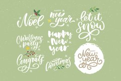 Christmas set | Frames | Patterns | Lettering | Elements Product Image 4