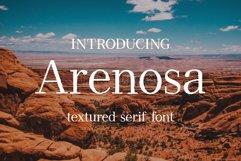 Arenosa | textured serif font Product Image 1