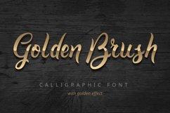 Golden Brush font Product Image 1