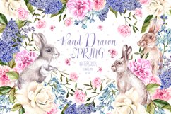 Hand Drawn Watercolor Spring Product Image 1