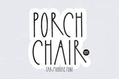 PORCH CHAIR a Farmhouse Font Product Image 1