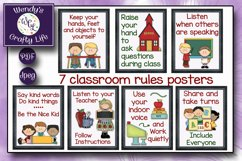 Teacher posters and classroom rules - 8x10 Jpegs & PDF files Product Image 2