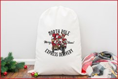 Biker Santa's North Pole Express Delivery for Crafters SVG Product Image 3