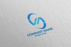 Letter V, A, VA Logo Design 66 Product Image 4