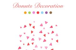 Watercolor Donuts Party Product Image 5