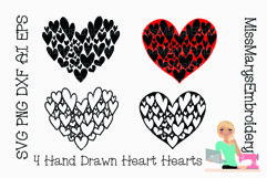 SVG Heart Hearts | Valentine's Day SVG | Hearts SVG | Product Image 1