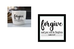 SVG Scripture Bundle, Bible Verse Print and Cutting Files Product Image 2
