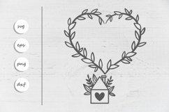 Home SVG - Farmhouse SVG - Love SVG Product Image 2