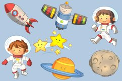 Space Kids Science Clip Art Collection Product Image 3