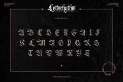 Letterhythm Contemporary Blackletter Typeface Product Image 4