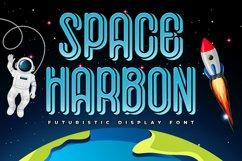 Futuristic Font - Space Harbon Product Image 1