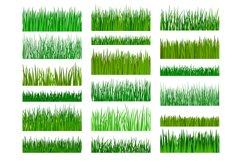 Grass border horizontal seamless pattern Product Image 1