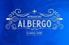Web Font Albergo Display Product Image 1