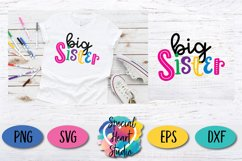 Sister Bundle - A set of sister sibling SVG designs Product Image 5