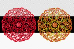 Mandala Printable Transparent Background, Sublimation PNG, Product Image 5