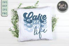 Lake Life SVG   Summer   Retro Shirt   Sublimation Product Image 6