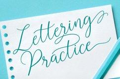 Sabyan // Modern Script Typeface Product Image 2