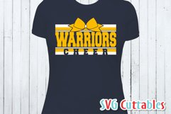 Cheer SVG   Cheer Template 006   Shirt Design Product Image 2