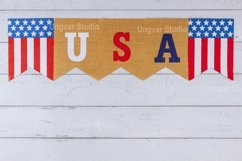 USA word of letters on celebrating US. federal holiday Product Image 1