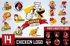 Set Chicken Logo Emblem Product Image 1