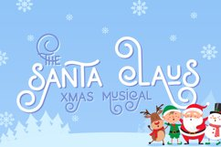 Holidays Font Duo Product Image 3