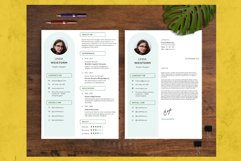 Modern and Minimalist Resume Template CV Vol.2 Product Image 4
