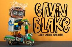 Gavin Blake - A Silly Cartoon Bubble Font Product Image 1