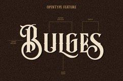 Bulges Typeface Product Image 2