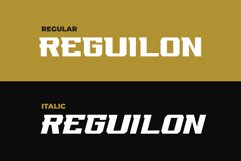 REGUILON Dispplay Font Product Image 6