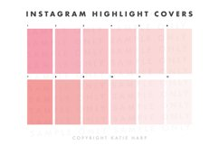 Instagram Highlight Covers - Blush Pink Solid Colors Product Image 2
