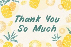 Funny Handwritten Font - Fruity Stories Product Image 5
