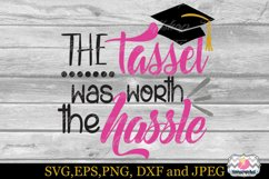 SVG, Dxf, Eps & Png the Tassel was worth the hassle Product Image 2