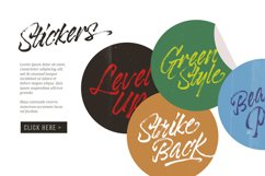 Black Rockets - Dry Brush Font Product Image 2