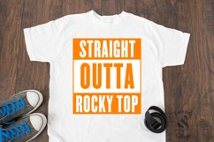 Straight Outta Rocky Top Tennessee SVG Design Product Image 2
