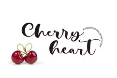 Cherry Heart Script Font Product Image 1