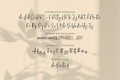 Web Font Bonhat - A Stylish Signature Font Product Image 3