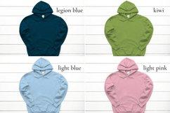 Hoodie Mockup Bundle Gildan 18500 Basic hoodie mockups Product Image 5