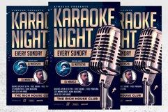 Karaoke Night Flyer Product Image 1